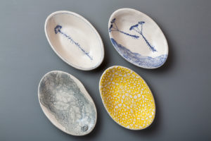 Shallow Oval Dishes